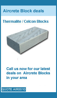 call us for our latest prices on celcon and thermalite blocks