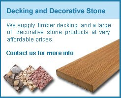 contact us for decking and aggregates